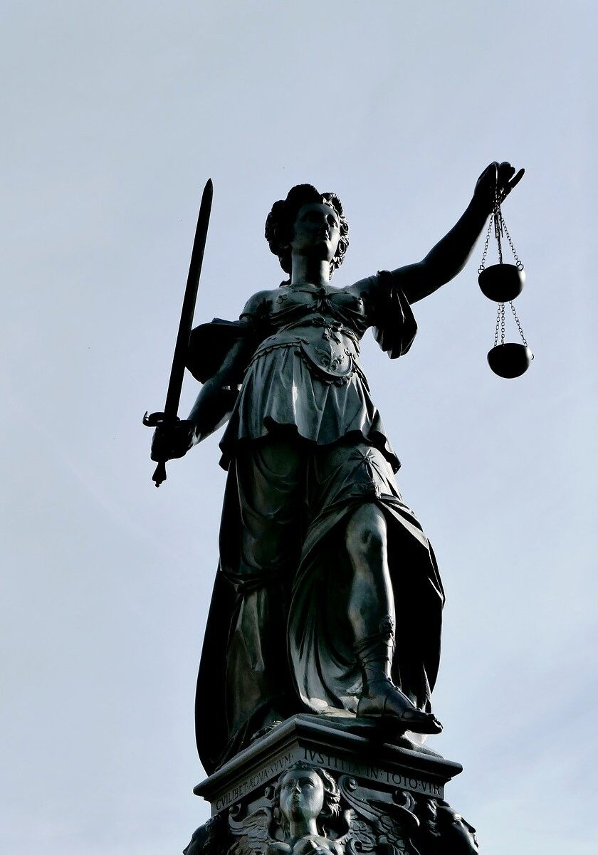 justitia, justice, case law